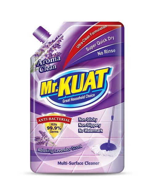 mr kuat surface cleaner product shot aroma clean