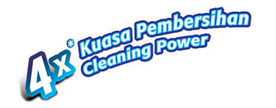 4 times cleaning power harimau kuat super pro