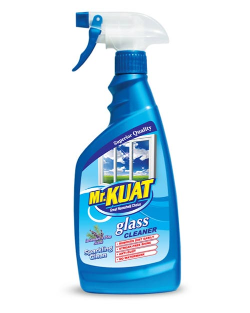 mr kuat glass cleaner product shot lavender scent