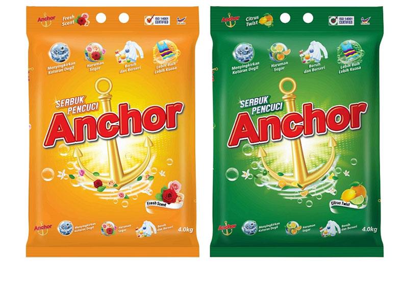 anchor detergent powder products