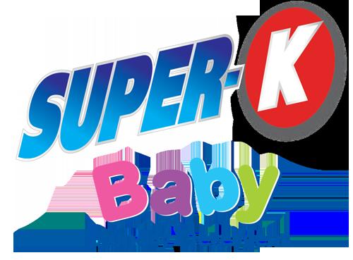 super-k baby laundry detergent logo
