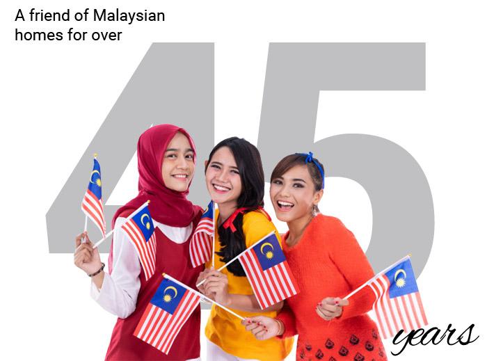 udi friend of malaysia 45 years
