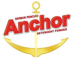 udi marketing brand anchor detergent powder serbuk pencuci