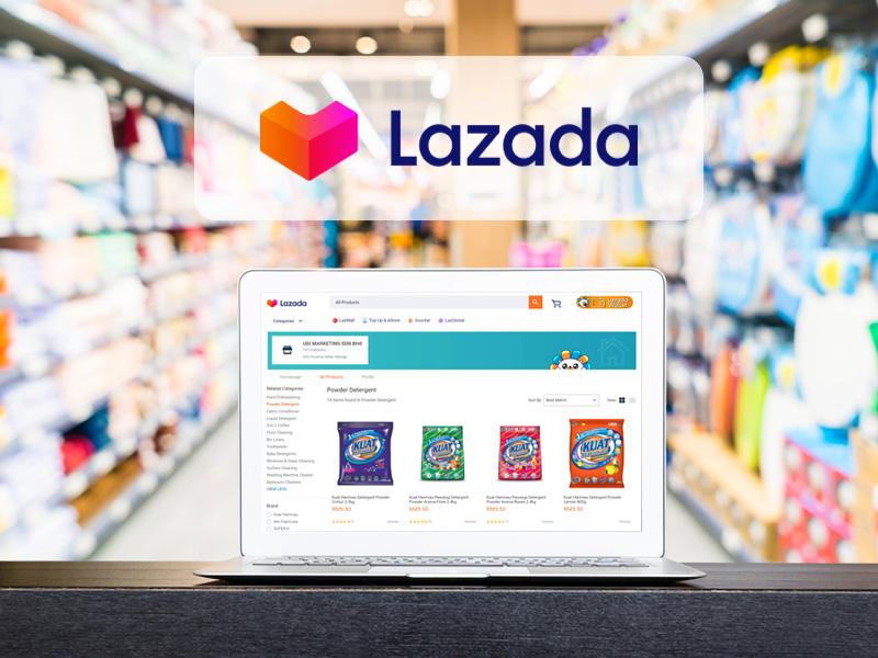 udi marketing online store lazada