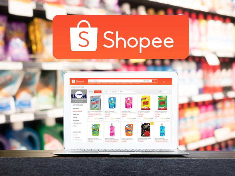 udi marketing online store shopee