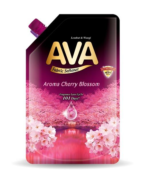 ava fabric softener product-shot aroma cherry blossom