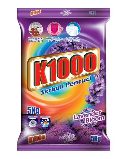 K1000 Lavender Bloom detergent powder