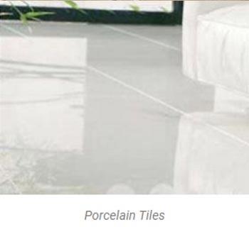 procelain flooring