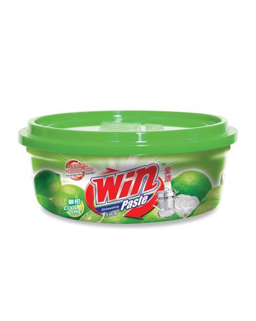 win dishwashing paste product shot cool lime 400g