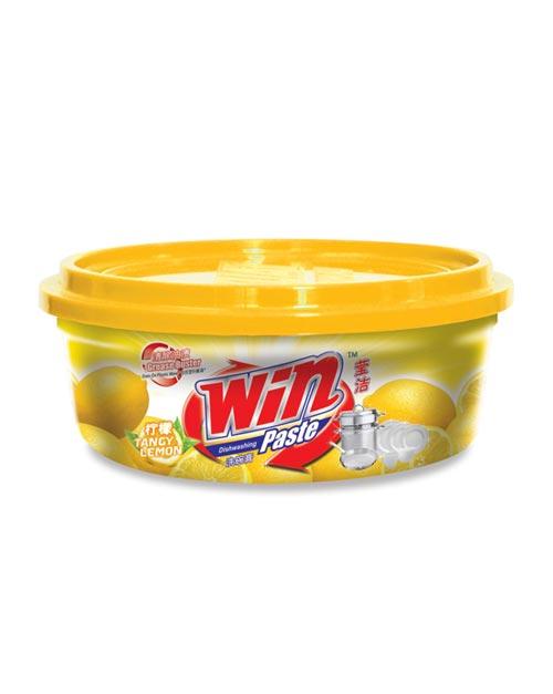 win dishwashing paste product shot tangy lemon 400g