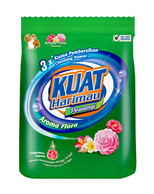 harimau kuat powder detergent pewangi big