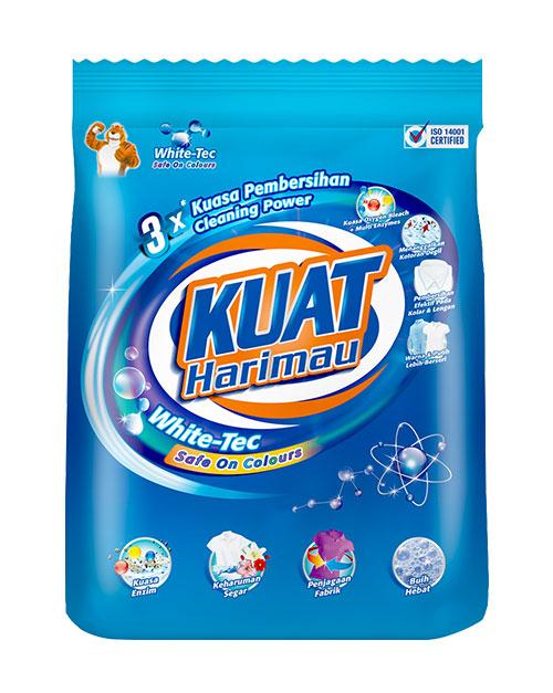 harimau kuat powder detergent white tec