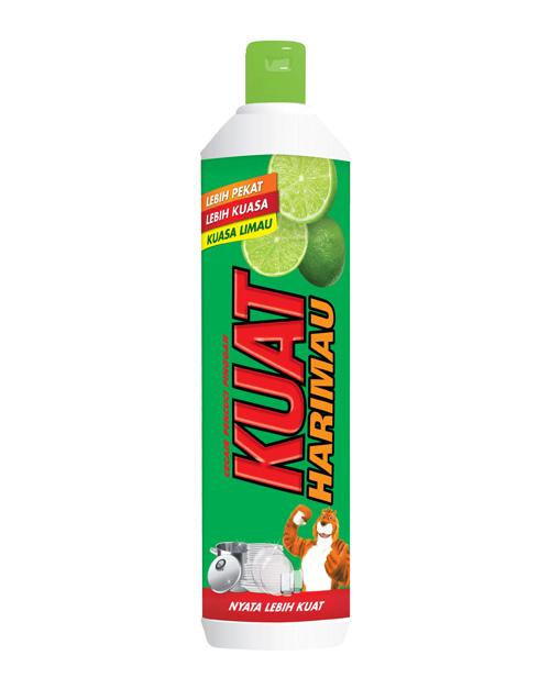 kuat harimau dish washing liquid lime 500 ml