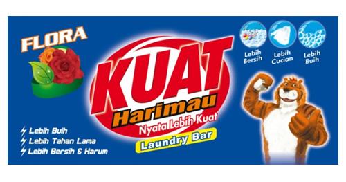 kuat harimau laundry bar flora variant
