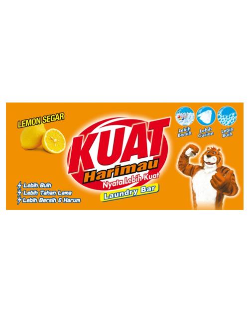 kuat harimau laundry bar lemon