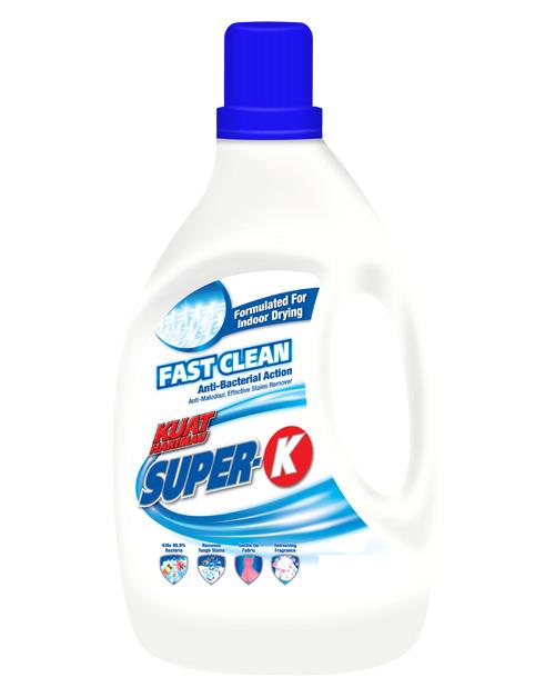 kuat harimau super k fast clean 4kg