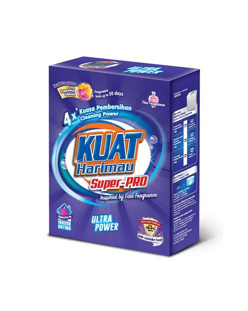 harimau kuat powder detergent colour 100g