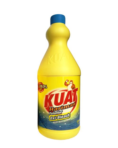 kuat harimau bleach lemon 900 ml