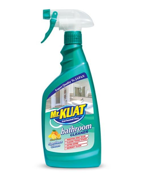 mr kuat bathroom cleaner product shot citrus scent